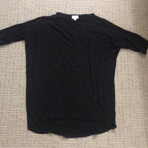 LulaRoe Black T-Shirt